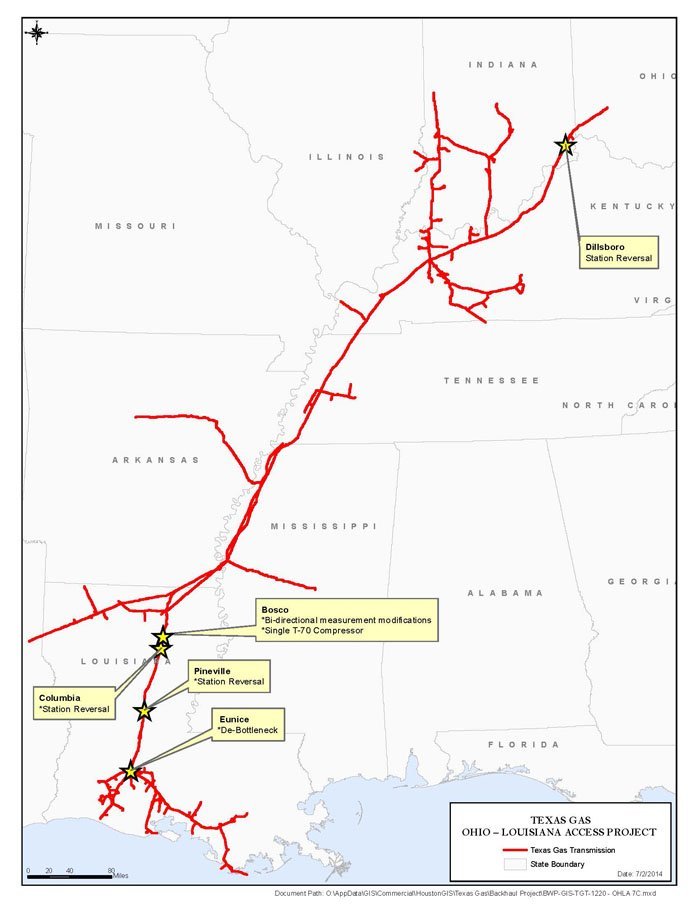 Texas Pipelines Natural Gas