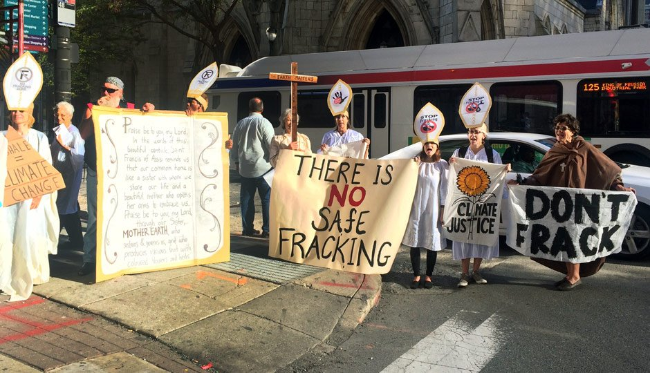 Shale Insight Protesters - Philly Magazine