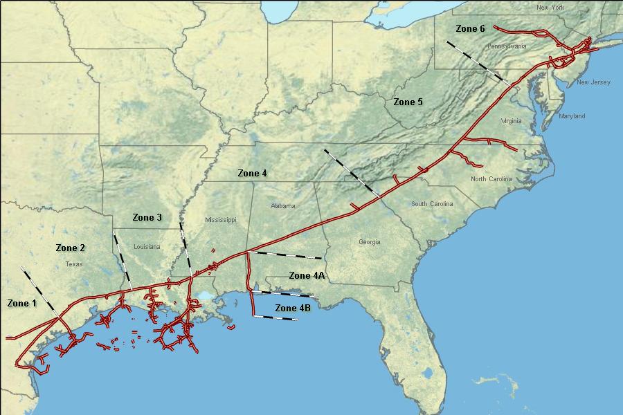 Location Of Virginia Natural Gas