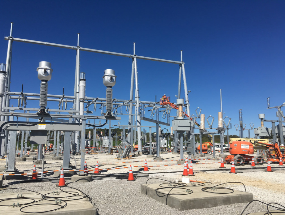firstenergy-substation-work